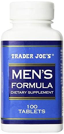 buy Trader Joe'S Men'S Formula, 100Tablets