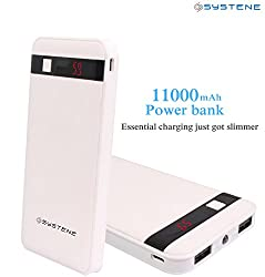 SYSTENE High Energy 11000mAh Power Bank - White