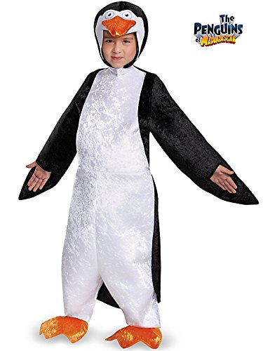 Penguins Of Madagascar Skipper Deluxe Costume for Kids