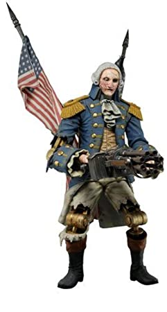 BioShock Infinite figurine George Washington Heavy Hitter Patriot 23 cm