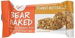 Bear Naked Bear Naked Real Nut Energy Bars - Peanut Butter - 2 oz - 12 ct