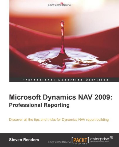 Microsoft Dynamics NAV 2009: Professional Reporting, Buch
