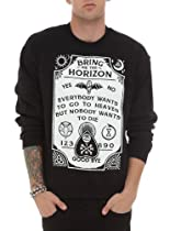 Bring Me The Horizon Spirit Board Crew Pullover Size : Large