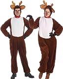 Reindeer Plush Adult Costume Size Standard