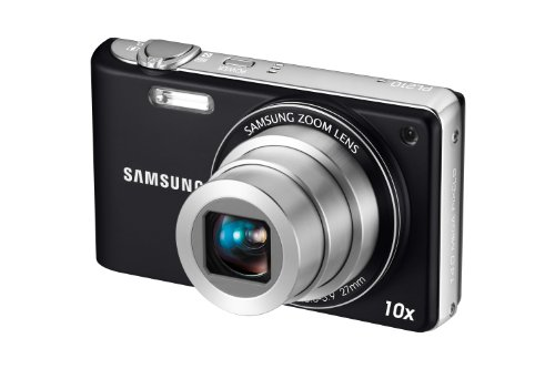 Samsung PL210 Digital Camera - Black (14.2MP, 10x Optical Zoom) 3 inch LCD