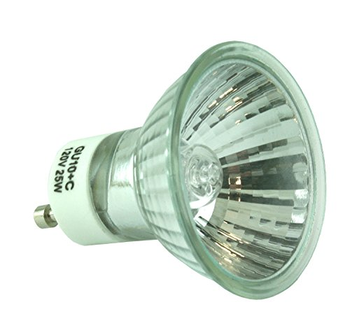 ESSENZA Wax Warmer Halogen Replacement Bulb - 120v AC, 60Hz, 25W/ GU10+C/GZ10+C (120 Vac compare prices)