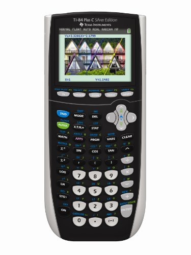 Texas Instruments TI-84 Plus C Silver Edition Graphing Calcu