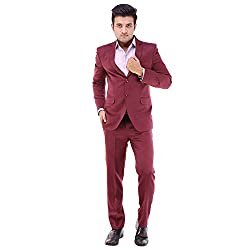 NAVERICKFINESUITS Men's Party Wear Intricate Rayon Suit