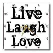 Patricia Sanders Inspirations - Live Laugh Love - Wall Clocks