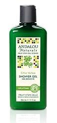 Aroma Naturals Andalou Naturals Shower Gel, Citrus Verbena, 11 Ounce