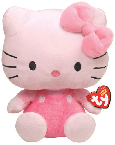Ty Beanie Baby Hello Kitty - All Pink - 1