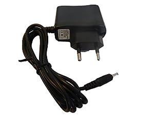 vhbw 220V fuente de alimentación, cargador, cable cargador para Philips Babyphone Avent SCD600, SCD600/10 por OH-1048A0600800u2-VDE. marca vhbw