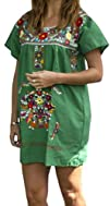 Liliana Cruz Embroidered Mexican Peas…