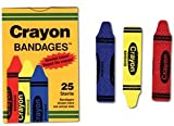 Bandages Crayon Strips Adhesive 100 BX AGPCRA5261 Category Bandages and Dressings