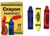 Bandages Crayon Strips Adhesive 100 BX AGPCRA5261 Category Bandages and Dressings