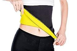 ValentinA Hot Thermo Sweat Neoprene Shapers Slimming Belt Waist Cincher Girdle for Weight Loss Women & Men