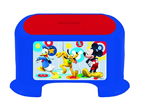 Mickey mouse clubhouse capers little artist double sided easel toy dealtrend - Mickey mouse stool ...