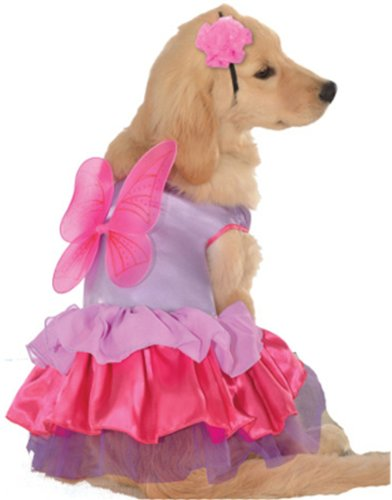 Rubies Costume Halloween Classics Collection Pet Costume, Small, Pink and Purple Fairy