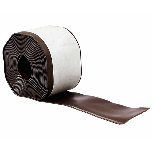 M-D Building Products 93161 4-Inch by 20-Feet Adhesive Back Vinyl Wall Base, Brown