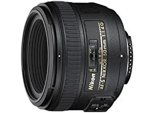 Nikon 50mm f/1.4G SIC SW Prime Auto Focus-S Nikkor Lens for Nikon Digital SLR Cameras - Fixed