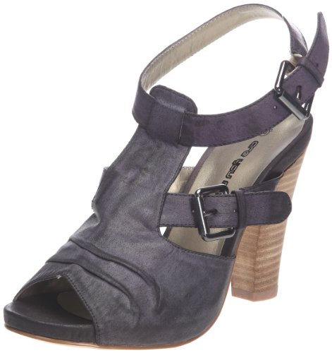 Donna Stella Womens Sandals Black Schwarz (Noir) Size: 37