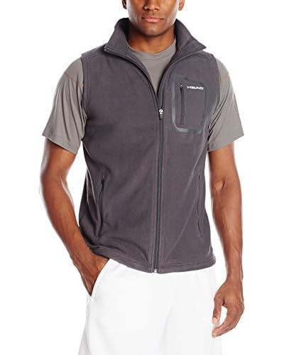 HEAD Men's Flex Microfleece Full Zip Vest