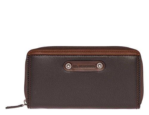 la-martina-damen-portemonnaie-echtleder-braun-one-size