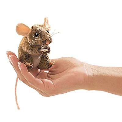 Folkmanis Mini Field Mouse Finger Puppet by Folkmanis