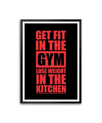 Get fit in the gym lose weight in the kitchen for Fitted kitchen quotes