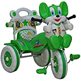 Baby Tricycle 86*64*33 Cms For 1-3 Years (Green) Birthday Gifts For Boys | Girls | Baby