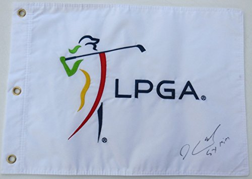 sei-young-kim-autographed-golf-flag-lpga-2015-rookie-of-the-year
