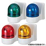 パトライト 壁面取付小型回転灯 WHB-200A-R 赤 (AC200V)