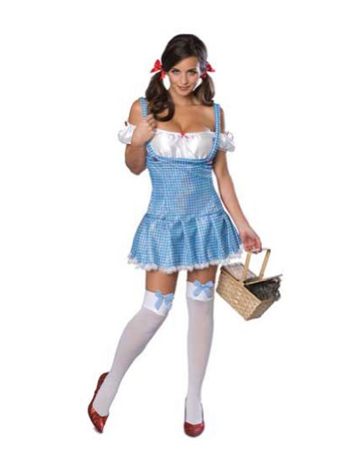 Wizard Of Oz Dorothy Adult Costume Sm Halloween Costume
