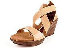 Lamere Womens Fashion Synthetic Beige Heels (LA-378) 40