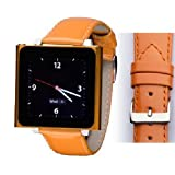 Wrist Jockey Fashionista - Orange Patent Leather (iPod nano watch band)