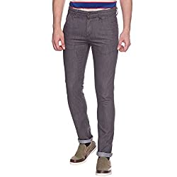 Raymond Dark Grey Men's Jeans