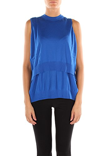119001S15168-Alexander-Wang-Gilets-Femme-Laine-Bleu