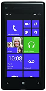 HTC 8X 4G Windows Phone, Black (Verizon Wireless)