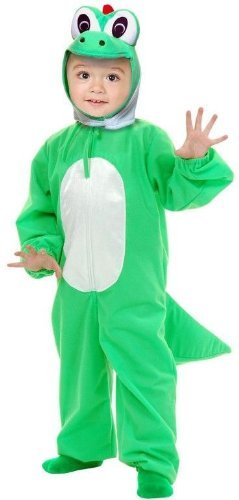 Yoshimoto the Green Dino Kids Costume