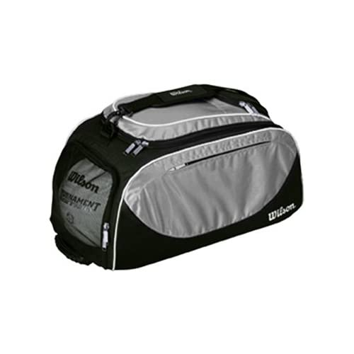 Wilson Volleyball Player Travel Bag/Backpacks BLACK/SILVER 23 L X 10.5 W X 11.5 H