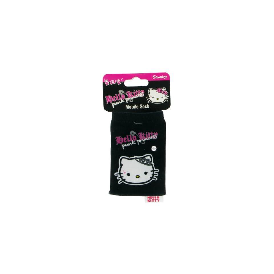 Lazerbuilt Hello Kitty HKSKPKP Mobile Phone Sock   Punk Princess