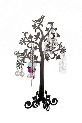 Pretty Earring & Jewellery Tree - BLACK