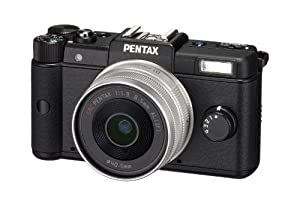 Pentax Q 12.4 MP CMOS Sensor Kit with 8.5mm 1.9 AL [IF] Prime Lens(Black)