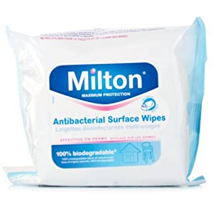 Milton Maximum Protection Sterilising Wipes