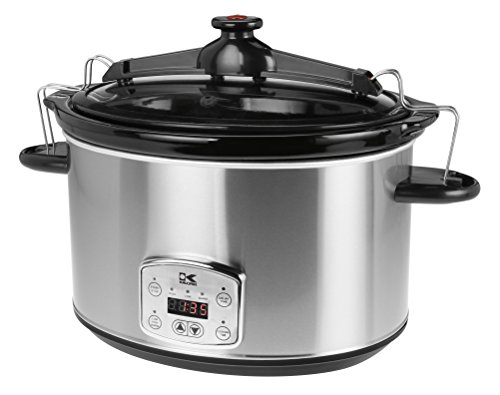 Kalorik SC 41175 SS Kalorik Stainless Steel 8qt. Digital Slow Cooker with Locking Lid (8 Quart Programmable Slow Cooker compare prices)