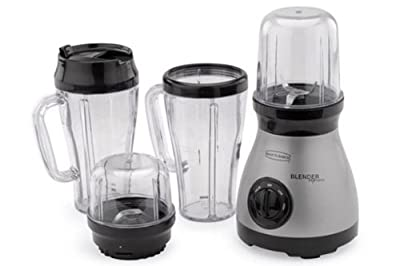 Back to Basics BPE3BRAUS Blender Express Plus 11-Piece Mixing System