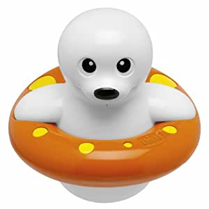 chicco 5191000000 bath toy seal swimming in ring baby. Black Bedroom Furniture Sets. Home Design Ideas