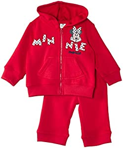 Disney Minnie Mouse Nh0088 - Traje de footing para niñas