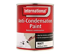 international anti condensation insulating paint matt white 750ml multitool accessories. Black Bedroom Furniture Sets. Home Design Ideas
