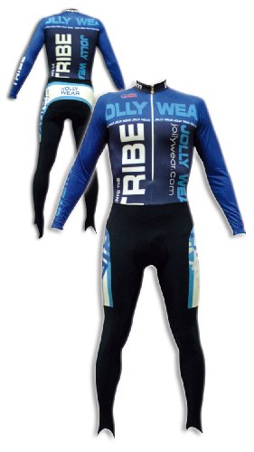 Buy Low Price JOLLYWEAR Cycling Thermal Skinsuit – long sleeves and tights (MARC collection) (B002YXIT4U)